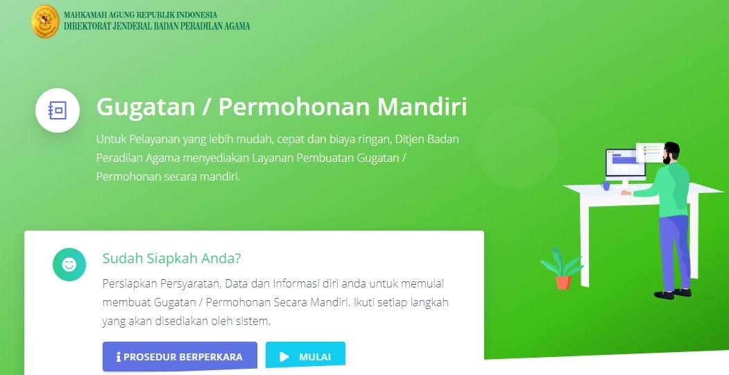GUGATAN / PERMOHONAN MANDIRI